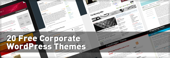 20 Free Corporate WordPress Themes