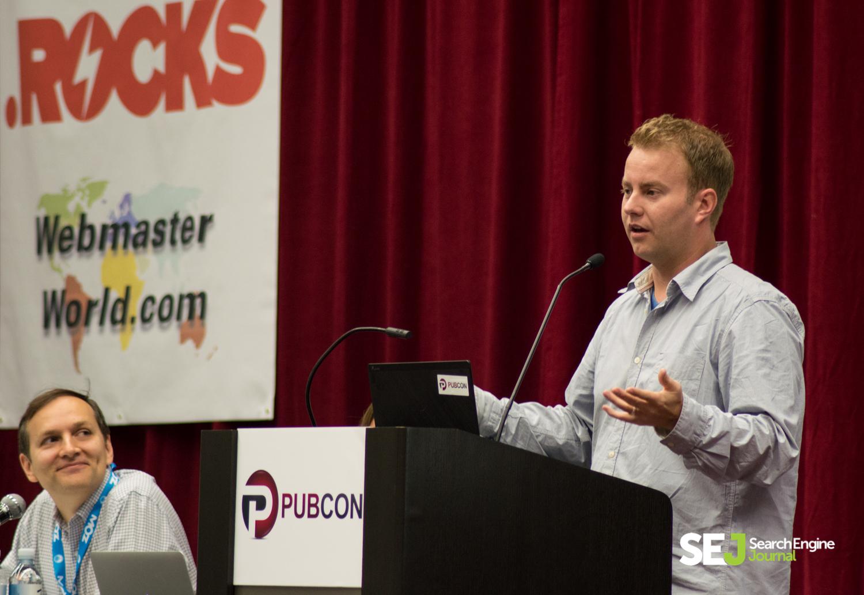 John Rampton Speaking at Pubcon 2014