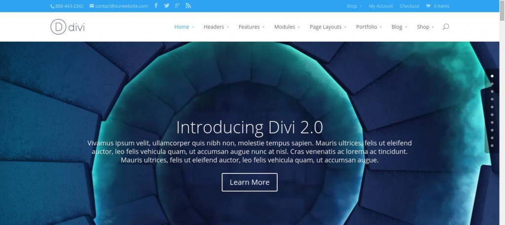Divi 2 0 - Just another WordPress site