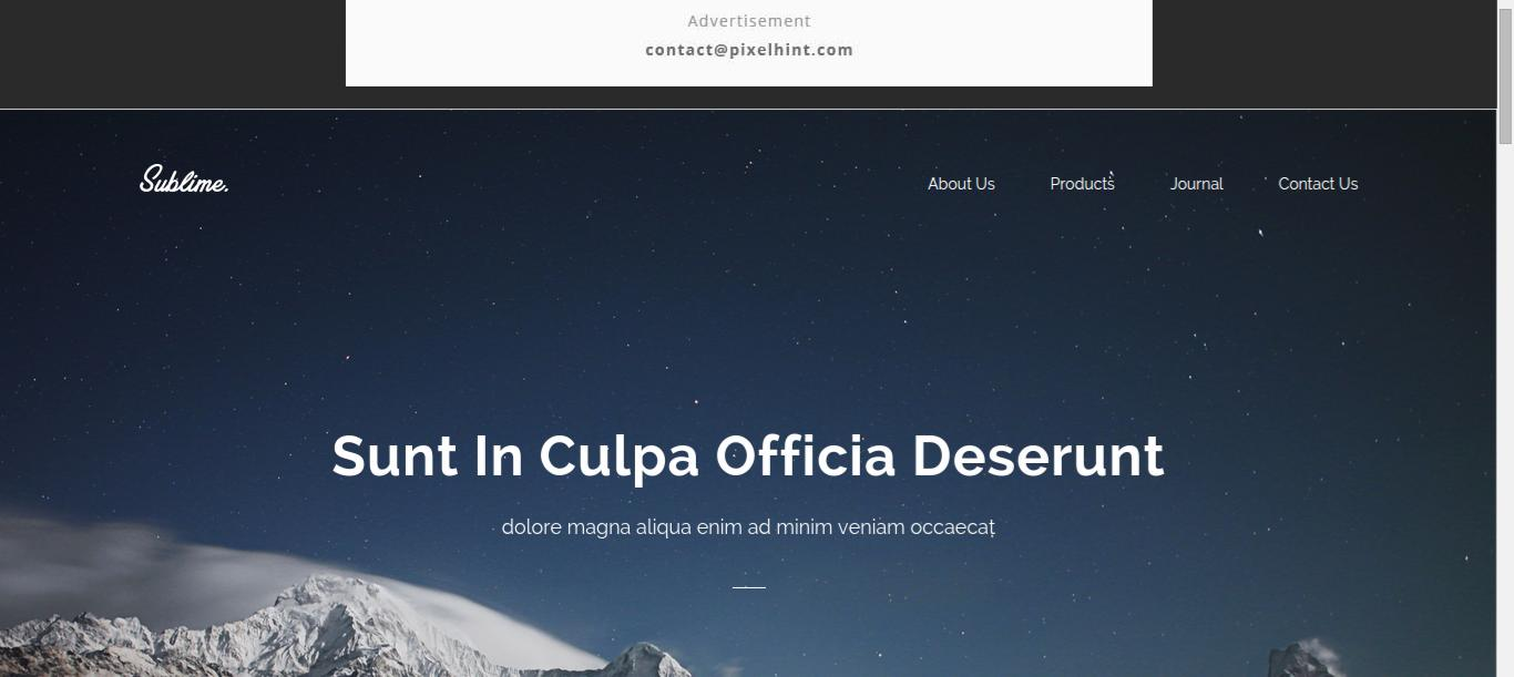 Css web templates amazing design