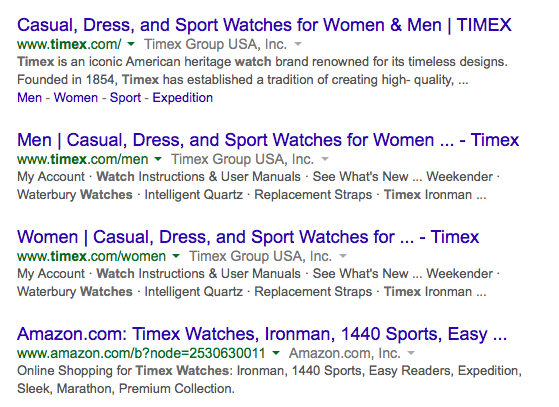 Top results for Timex watch