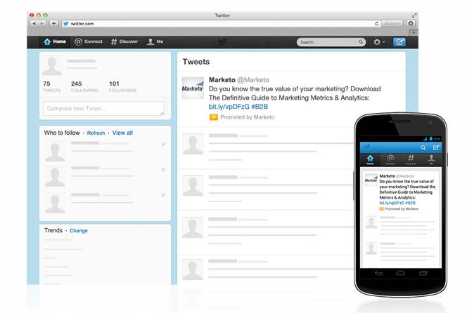 Promoted tweet screenshot