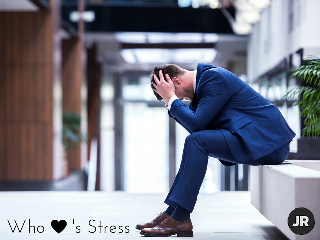 become a less stressed person