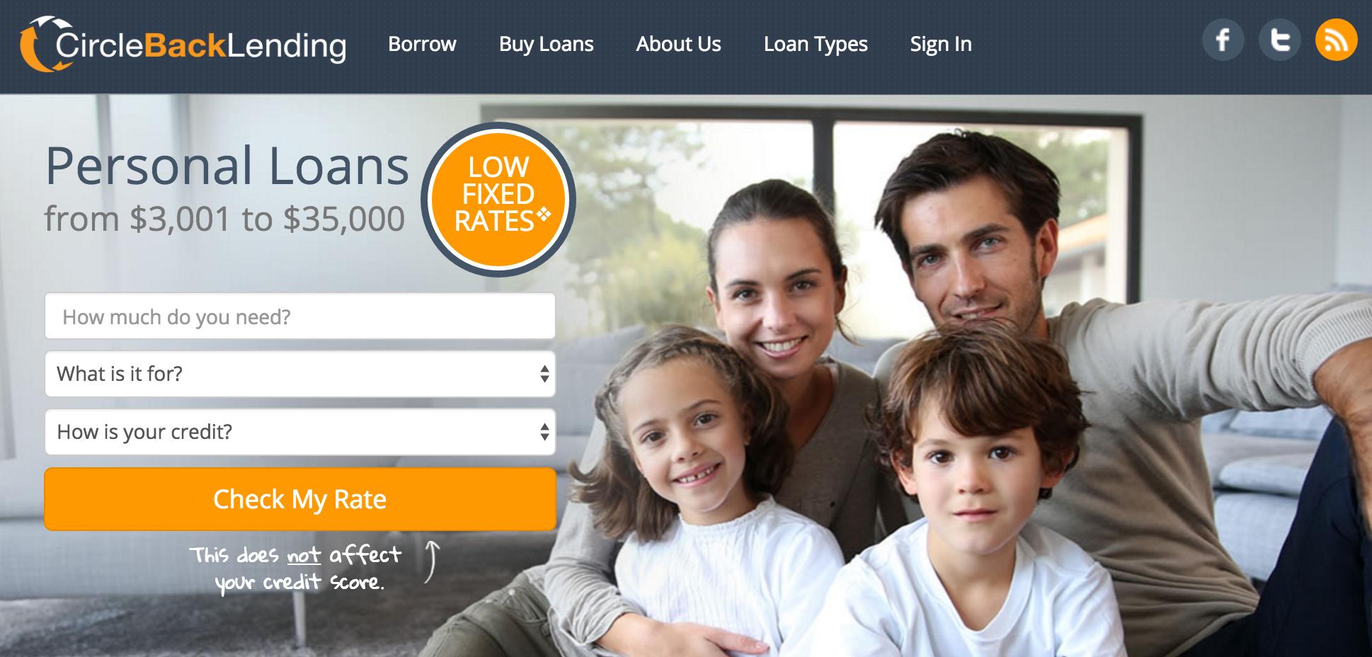 circlebacklending personal loans