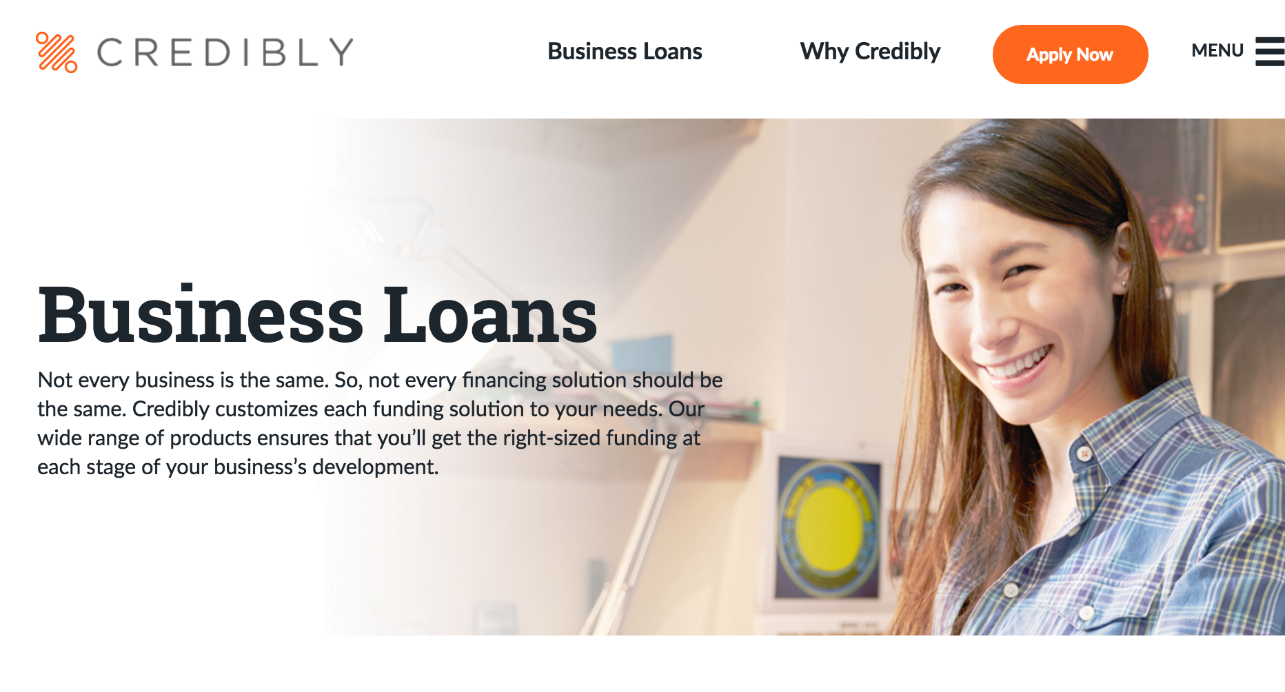 credibly business loans