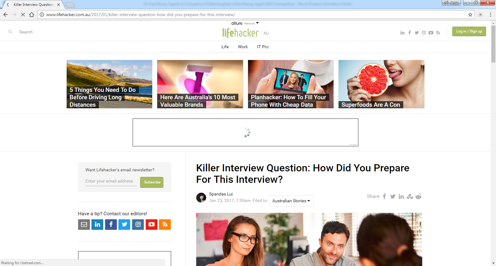 killer interview question how did you prepare for this interview find out more interview tips here